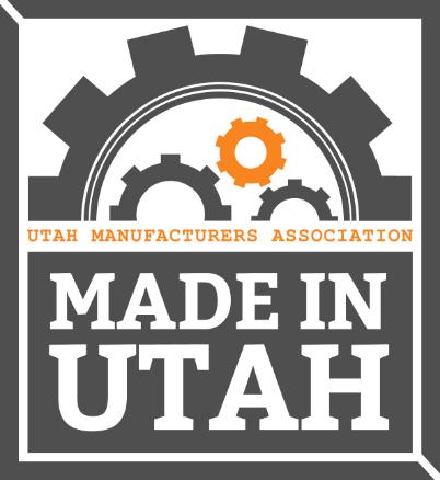 Made In Utah Logo Utah Manufcturers Association