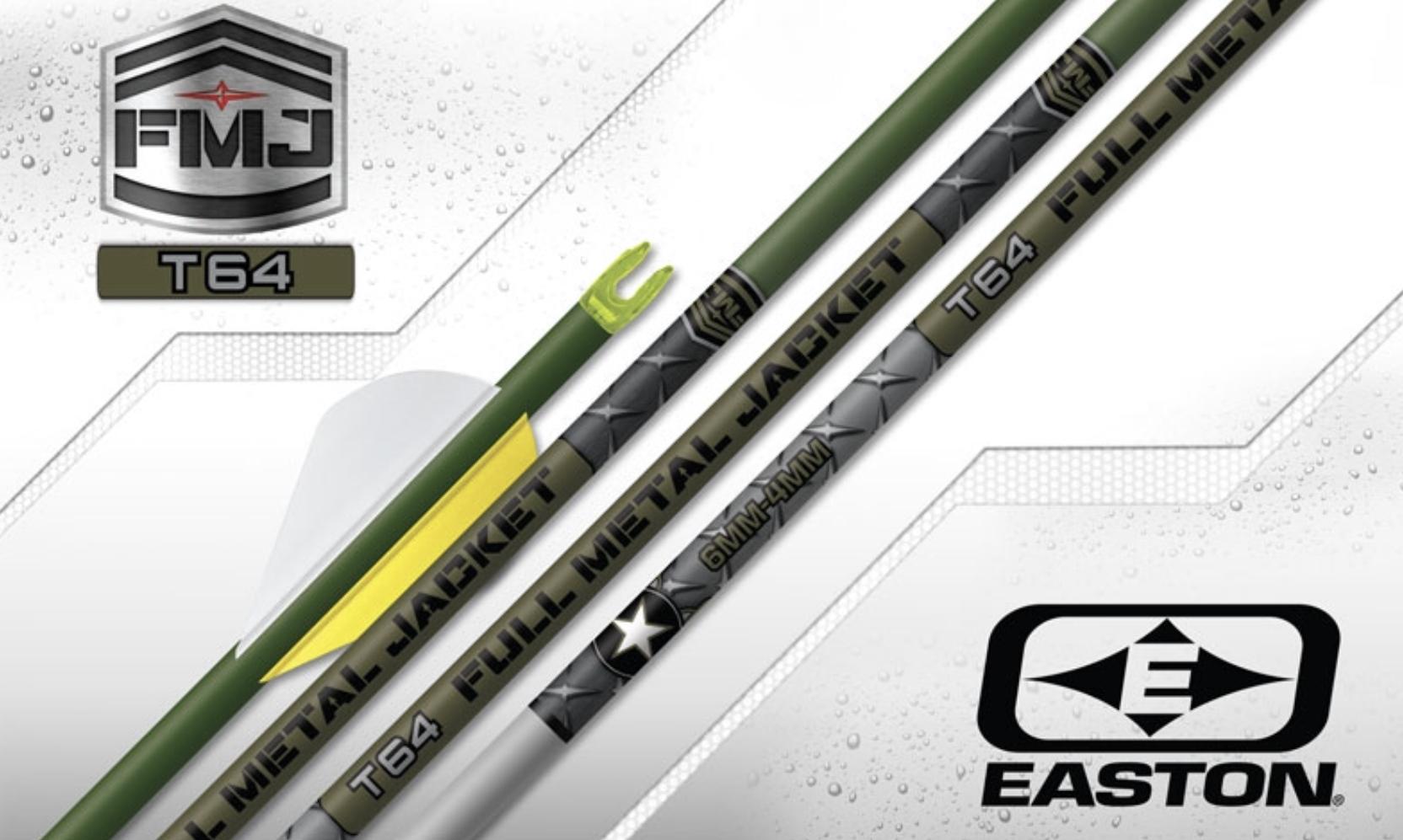 easton archery full metal jacket t64 carbon arrows