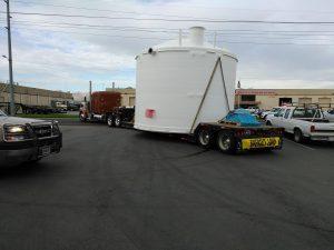 midwestern fabricators fiberglass storage tank