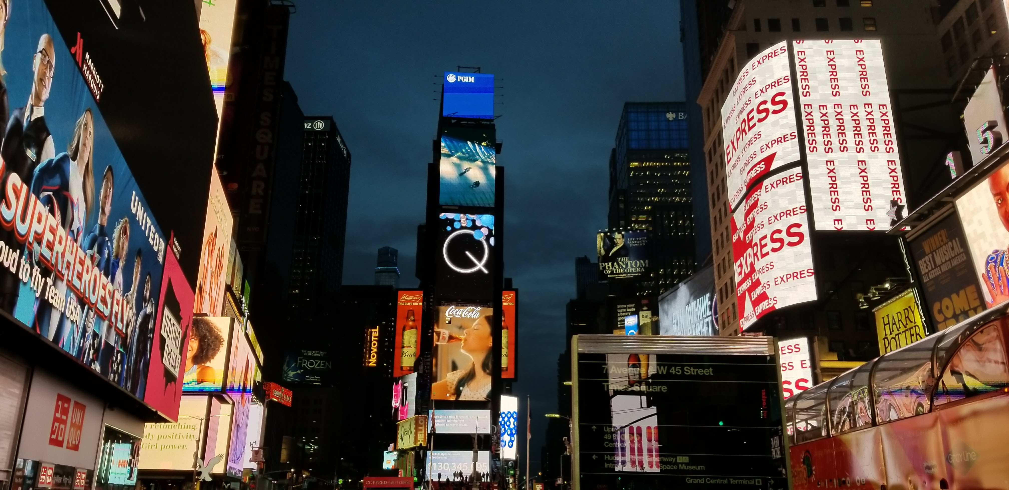 prismview a samsung company times square led display