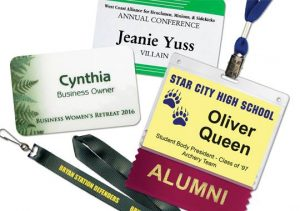 coller industries incorporated name badges