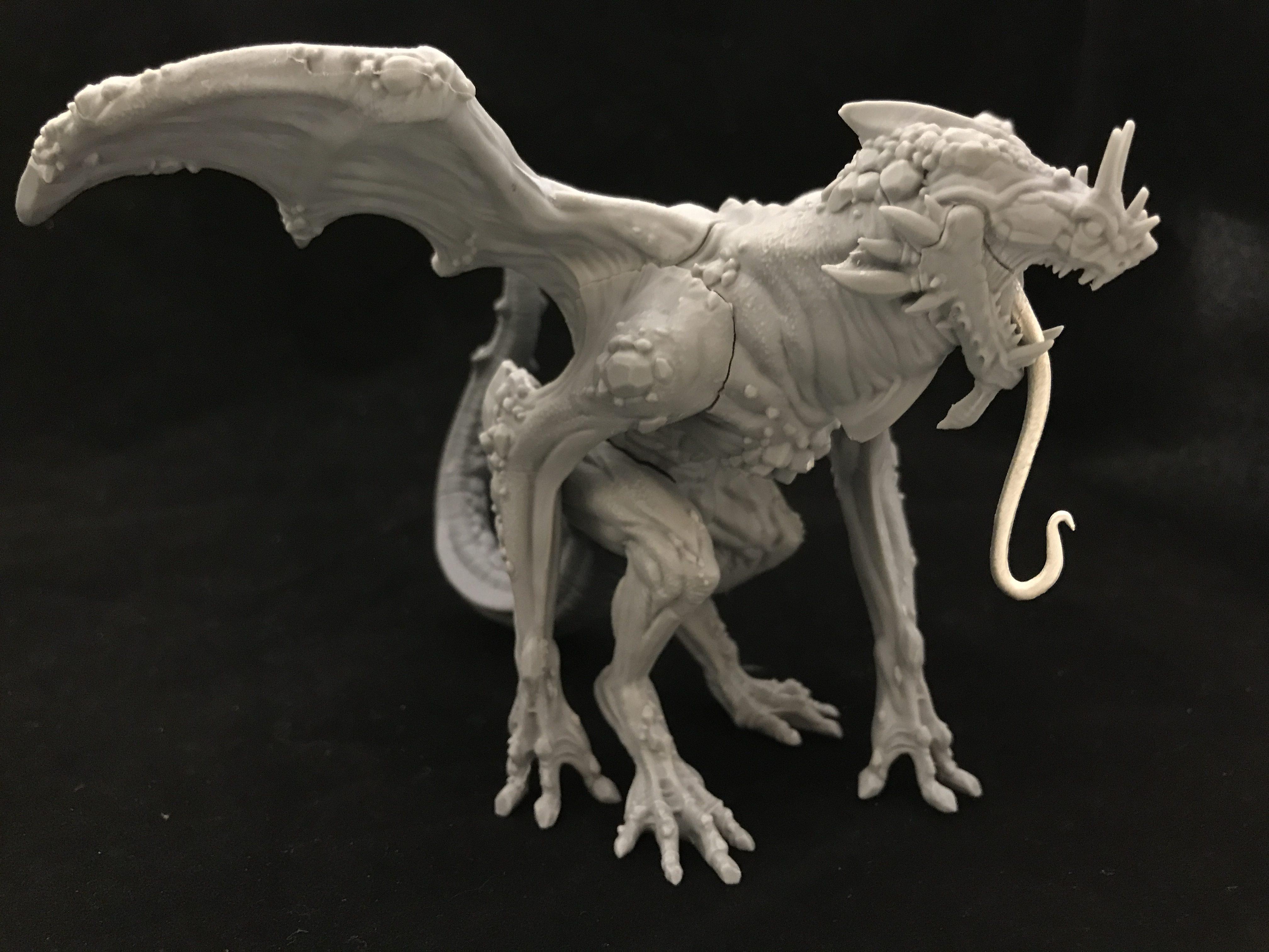 trenchworx for mcdm resin cast dragons