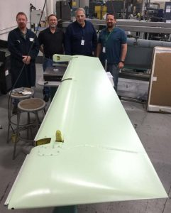 kihomac inc a 10 thunderbolt rudder assembly