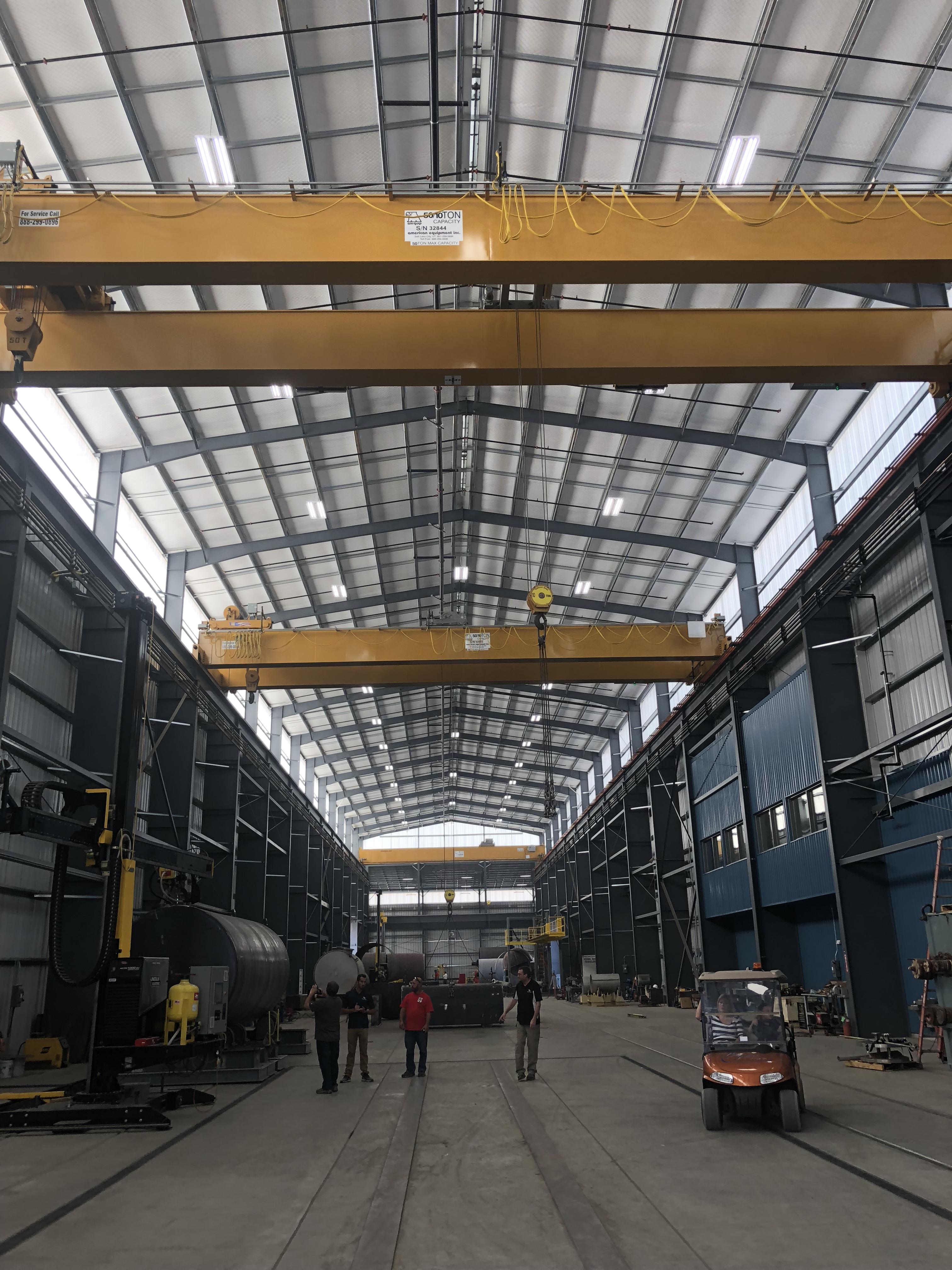 american equipment inc overhead bridge cranes