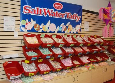 sweets candy salt water taffy