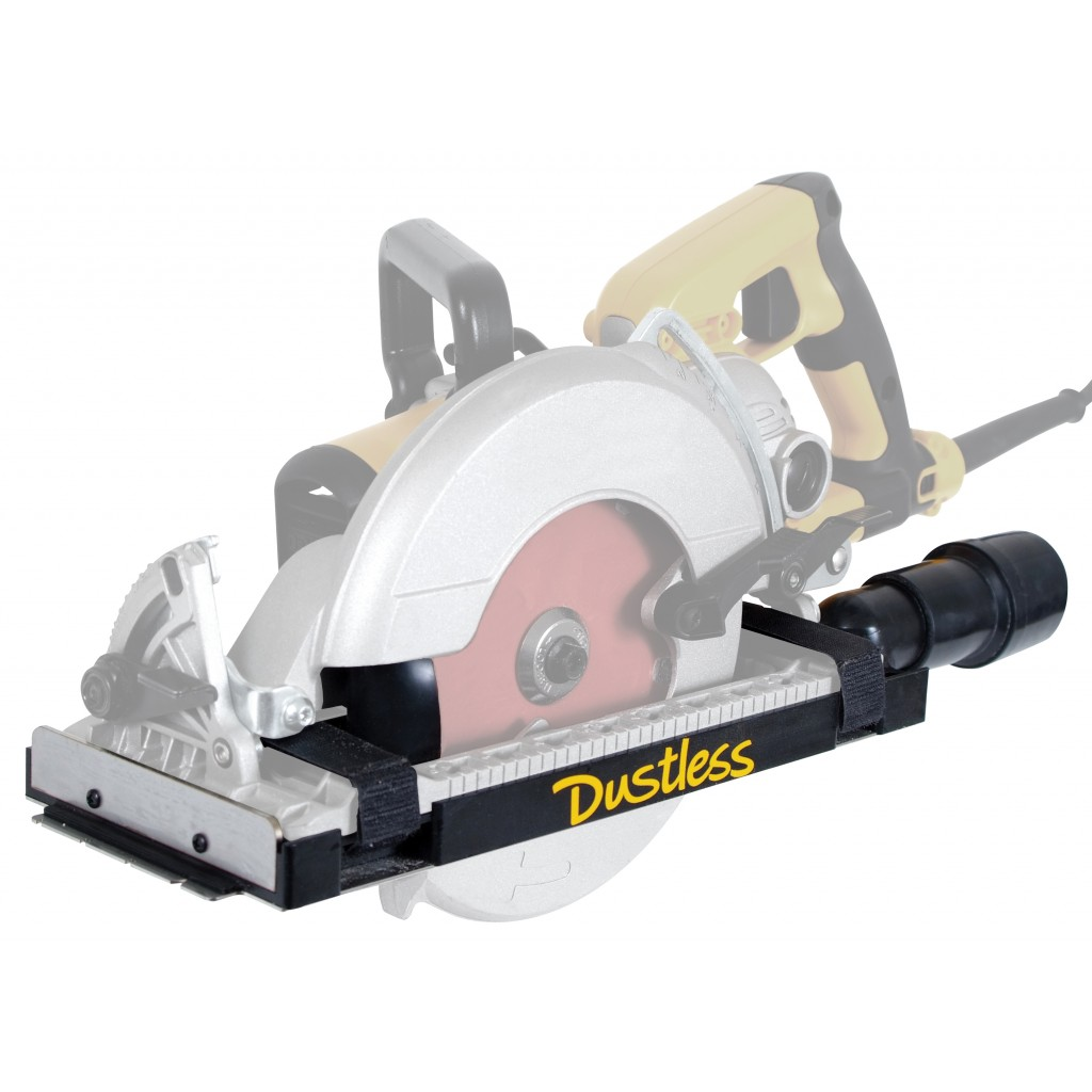 dustless technologies universal dust collector shroud for wormdrive saws d4000