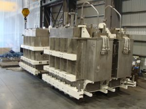 petersen inc melter for high level and low level radioactive waste