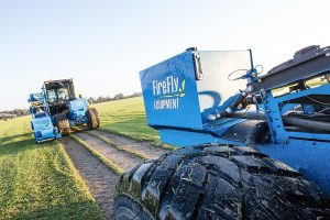 firefly equipment automated sod harvesting machine