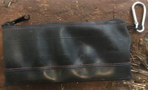 moab bag co women s clutch made from recycled bicycle tubes