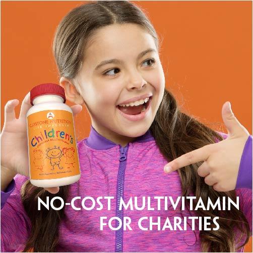 capstone rsquo s no cost children rsquo s multivitamin for charities