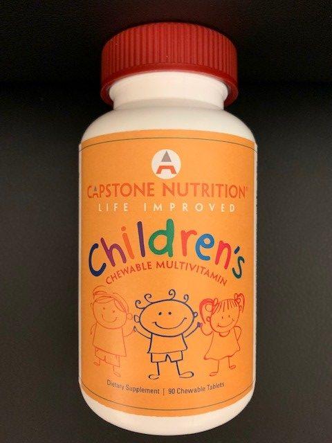 capstone nutrition children s chewable multivitamin