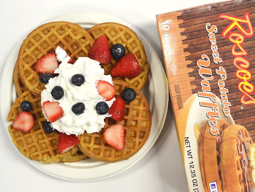 treehouse foods roscoes sweet potato waffles