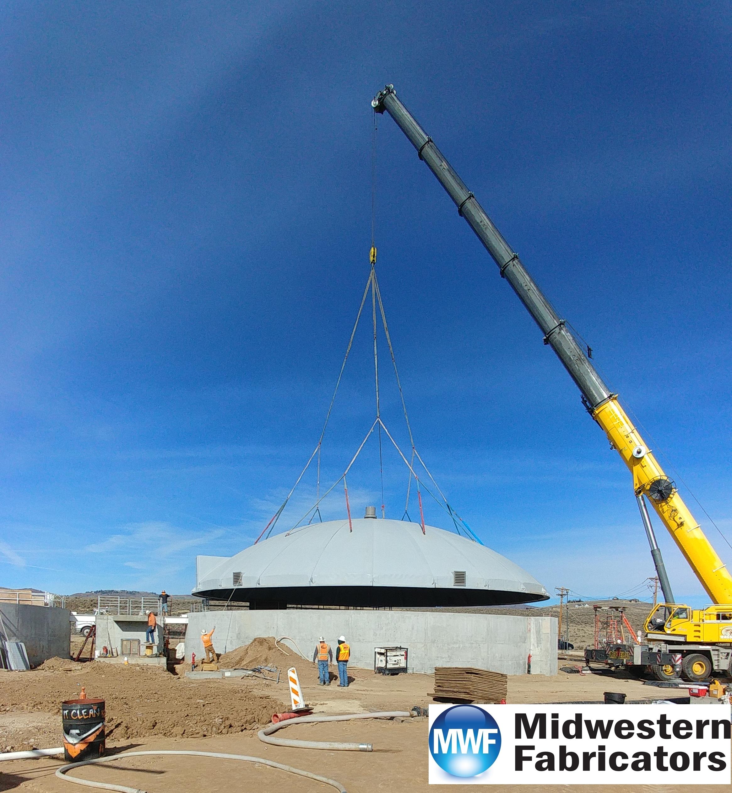 midwestern fabricators fiberglass dome cover