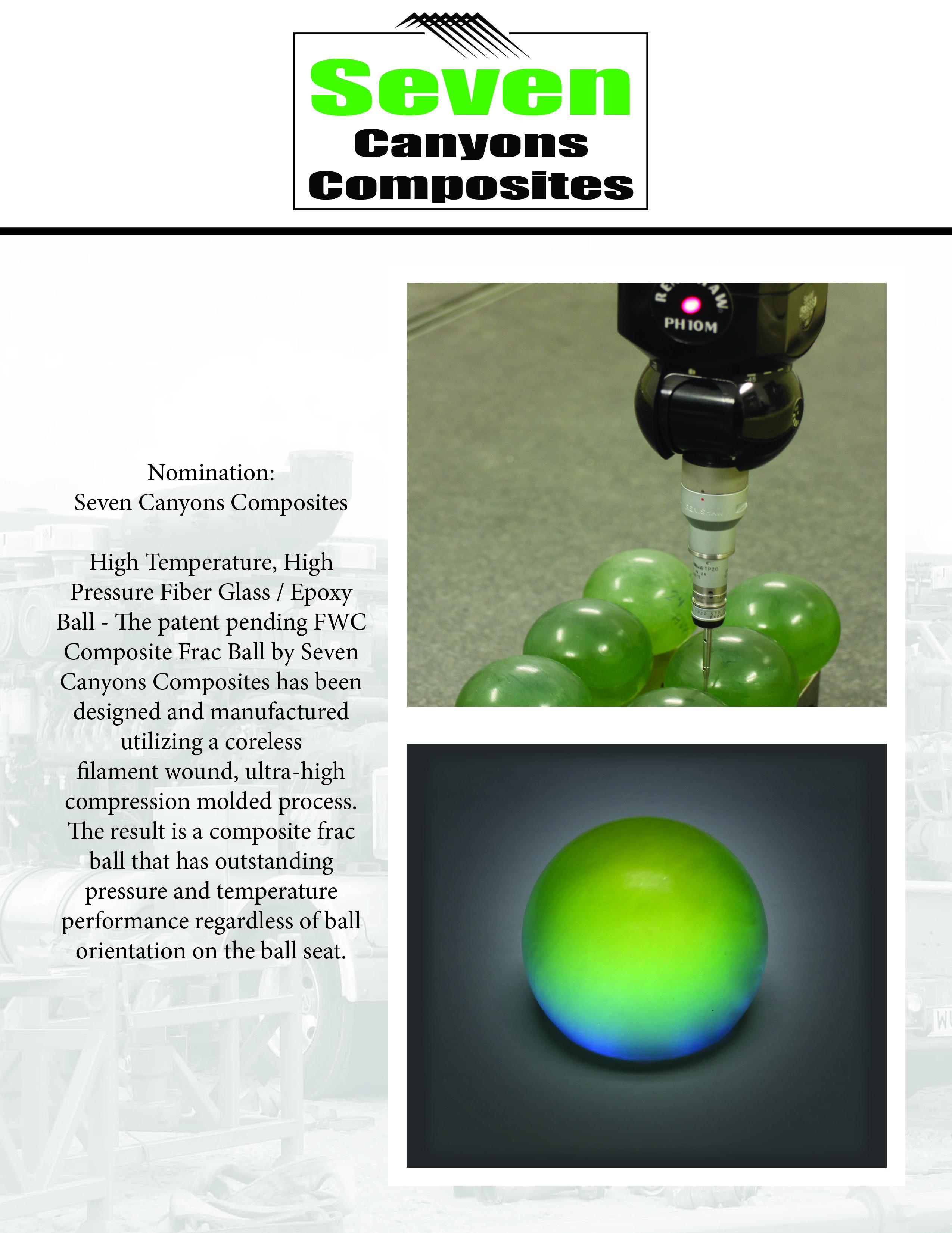 advanced composites inc fwc composite frac ball