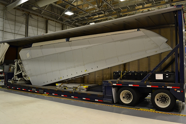 the boeing company 787 vertical fin assembly