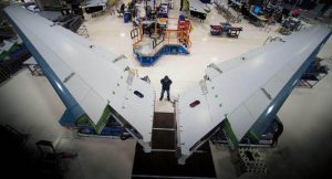 the boeing company 787 horizontal stabilizer assembly