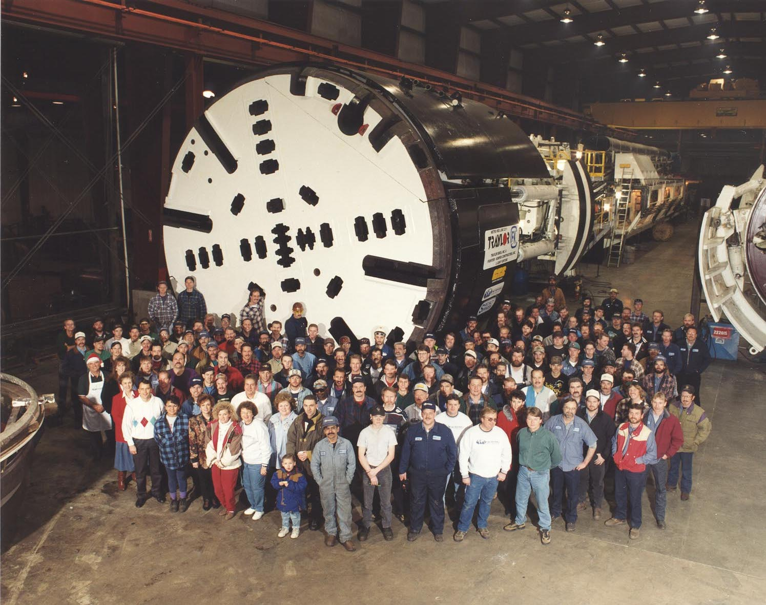 petersen inc tunnel boring machine