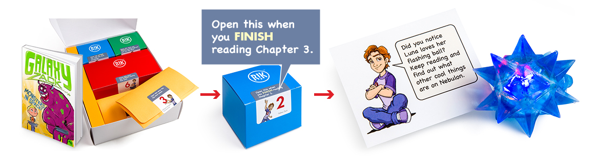 reading with rik reading incentive kit