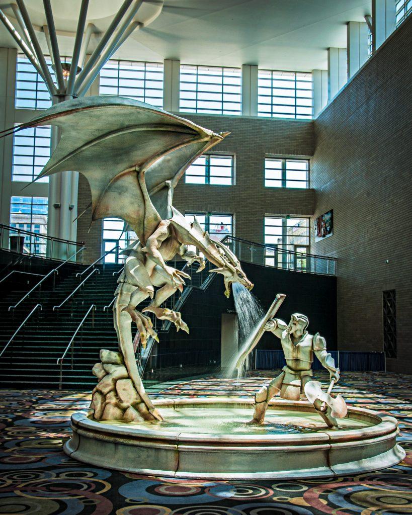 dragon fountain fantasycon 2014