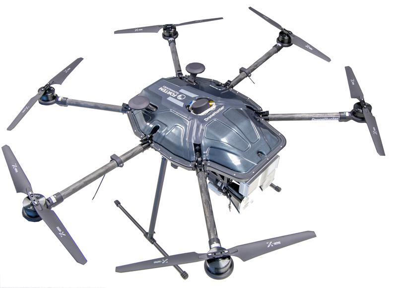 dronehunter by fortem technologies and associated trueview radar