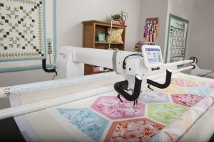infinity long arm quilting machine and frame