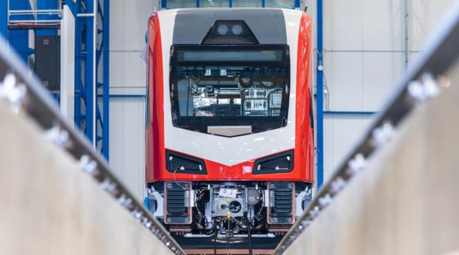 double decker electric train